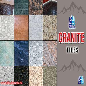 Multi Red Granite Tile