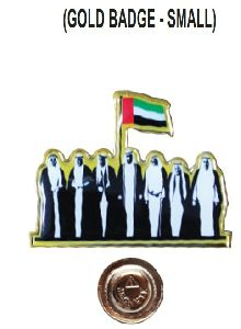 Epoxy badge