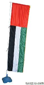 Outdoor Flag With Plastic Pole