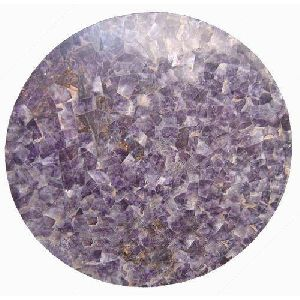 Amethyst Random Round Table Top