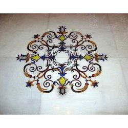 Antique Marble Inlay Flooring