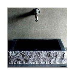 Black Marble Counter Wash Basin