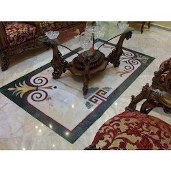 Marble Inlaid Antique Flooring