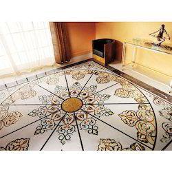 Marble Inlay Designer Flooring