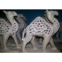 Soapstone Undet Cut Camel Statue
