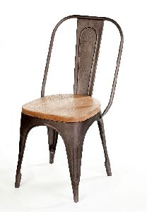 Industrial Metal Iron Dining Chair