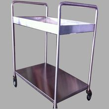 Hospital Dressing And Instrument Trolley