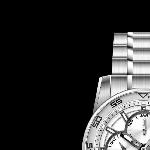 Stainless Steel Band Watch