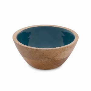 Wooden Small Size Resin Bowl
