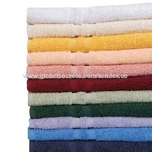 Printed Bath Towels, Made Of 100% Cotton, Oem Order Accepted, Good Water Absorbency