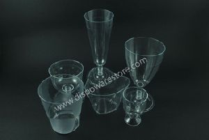 Disposable Ps Wine Glass