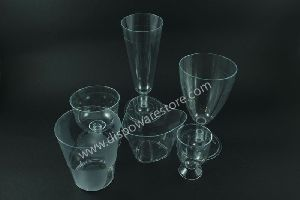 Disposable Step Glass