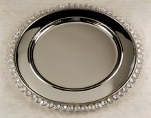 Round Stainless Steel Charger Plate