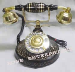 Nautical Brass Telephone