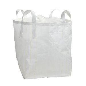 White Plastic Woven Jumbo Bags