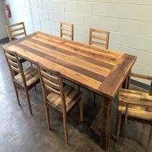 Dining Table Reclaimed Wood