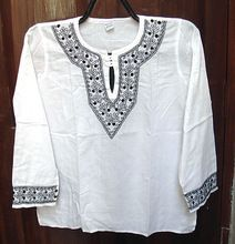 Chikankari Kurti Beautiful Indian Chikan Embroidery Kurti Tunics