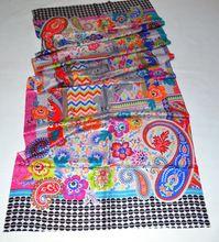 Silk Digital Print Shawl