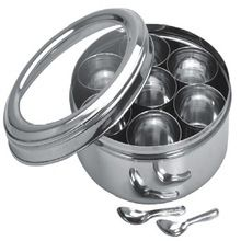Stainless Steel Spice Box / Indian Spice Box