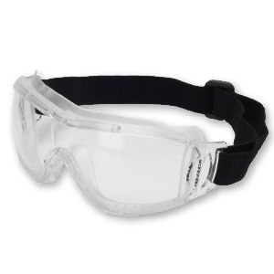 CLEAR POLYCARBONATE SAFETY GOGGLES