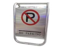 Stainless Steel No Parking Sign Stand