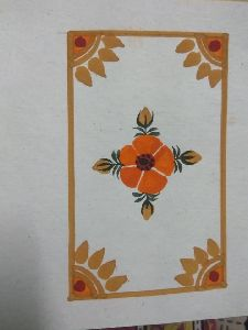 Handmade Paper Hand Painted Greeting Cards