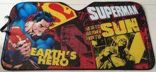 SUPERMAN CAR SUNSHADE