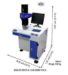 Laser Marking Engraving Machine With Computer System