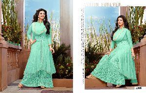 Embroidred Anarkali Salwar Kameez