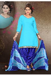Glass Cotton Work Salwar Kameez