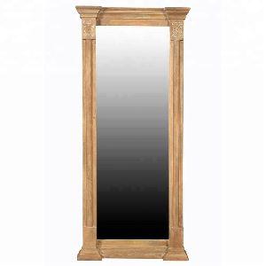 Medieval Wooden Mirror Medium