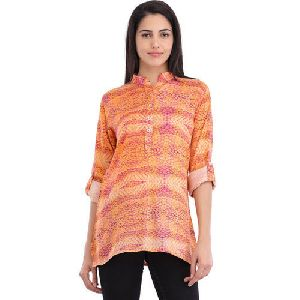 Ladies Printed Short Kurti