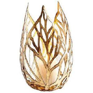 Aluminium Gold Candle Votive