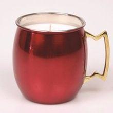 Copper Mug Candle Tin