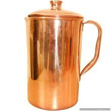 Shiny Polished Copper Handmade Jug