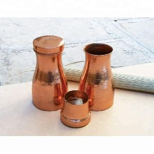 Water Storage Vessel With Lid