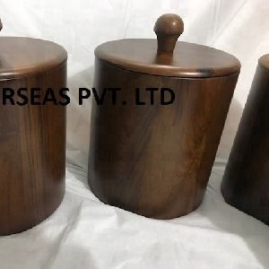 Wooden Insulated Stainless Steel Bucket