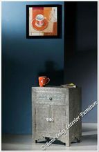Two Door Bedside Table