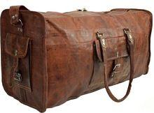 Vintage Style Luggage Bag