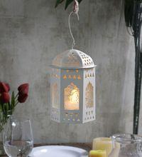 White Stylish Decorative Candle Holder