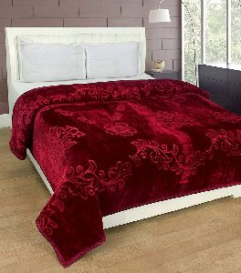 Double Bed Embossed Blanket