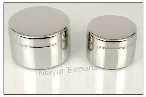 Metal Round Tiffin