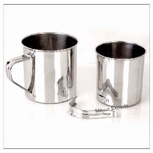 Stainless Steel Mug With Detachable Handle
