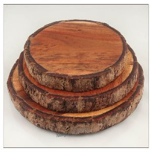 Wooden Charger Plate