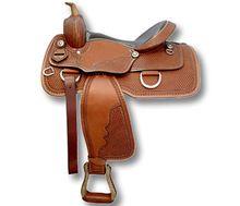Synthetic Western Horse Saddle