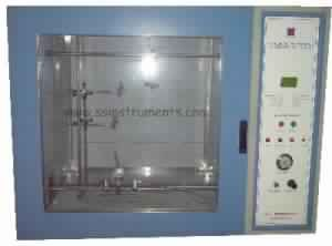 Flammability Test as per UL 94 (Semi Automatic)