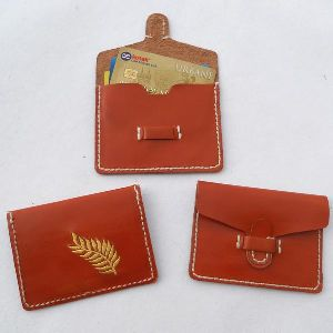 Leather Business Credit Card
