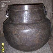 Antique Brass Flower Pots