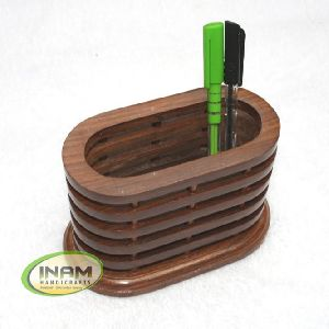 Handmade Wooden Pen Pencil Holder
