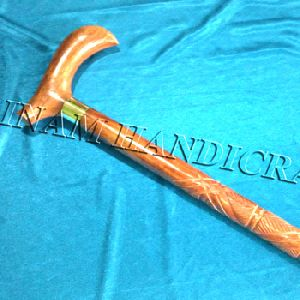 Handmade Wooden Walking Stick